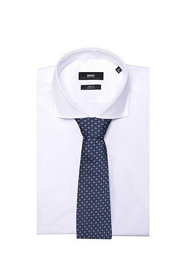 男士商务休闲桑蚕丝西装领带,  465_淡蓝色