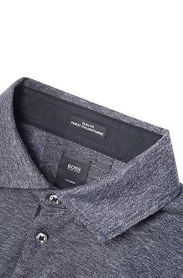 饰以刺绣版Jeremyville设计猪形图案的修身版polo衫,  001_黑色