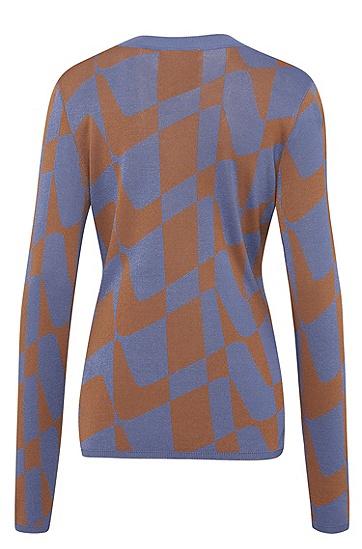 女士休闲时尚针织衫,  963_多色