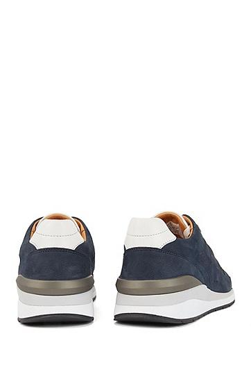 男士运动休闲鞋,  401_暗蓝色