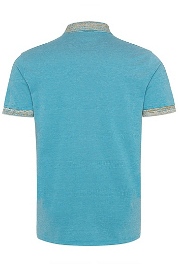 男士商务休闲短袖Polo衫,  491_淡蓝色