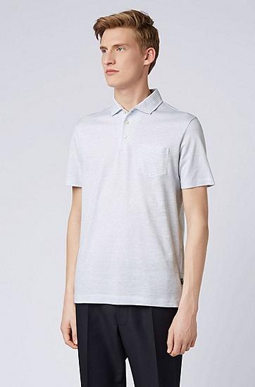 男士时尚休闲商务polo衫,  475_淡蓝色