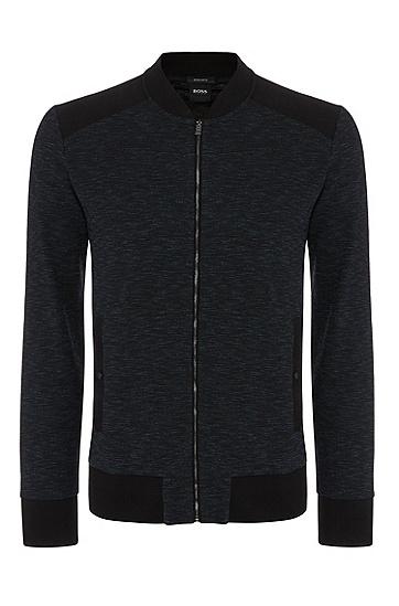 男士休闲卫衣外套,  001_黑色