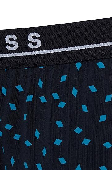 男士舒适弹力印花内裤,  990_多色
