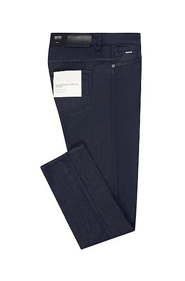 男士时尚休闲牛仔裤,  410_海军蓝色