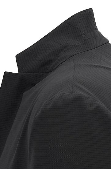 男士西服外套,  001_黑色