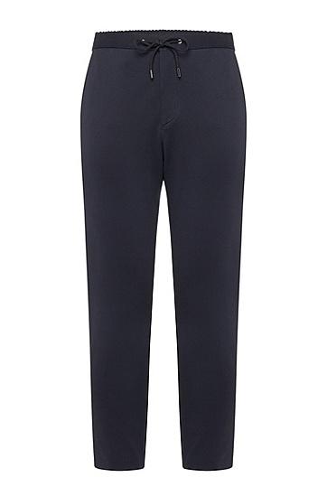 男士深色休闲时尚商务长裤休闲裤,  480_淡蓝色