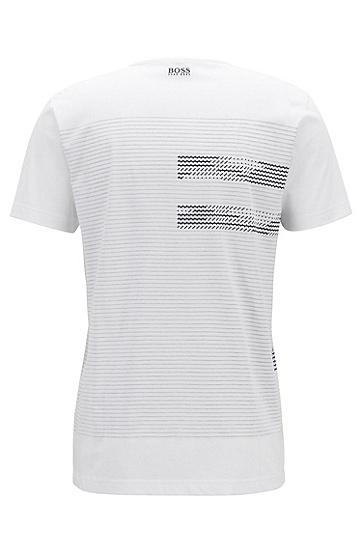 男士休闲时尚T恤,  100_白色