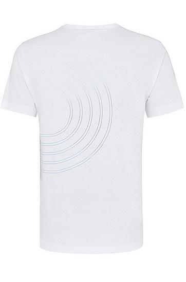 男士深色休闲时尚商务T恤,  100_白色