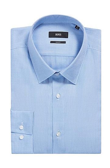 男士时尚休闲商务衬衫,  450_浅蓝色