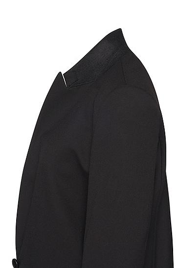 女士时尚休闲商务西装,  001_黑色