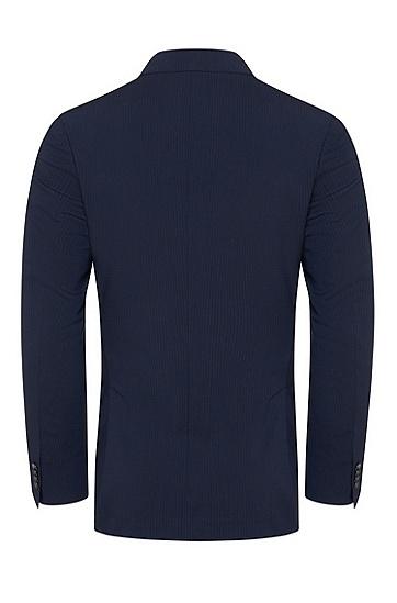 男士条纹羊毛西服套装,  480_淡蓝色
