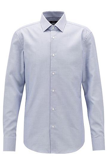 男士商务休闲长袖衬衫,  475_淡蓝色