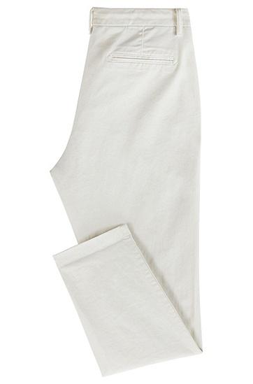 女士时尚休闲长裤,  118_淡白色