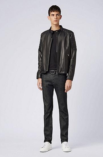男士时尚休闲牛仔裤,  001_黑色