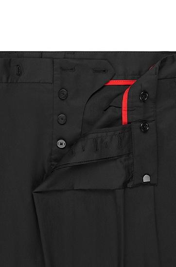 男士时尚商务修身西裤,  001_黑色