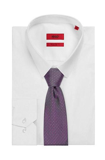 男士时尚商务领带,  510_中紫色