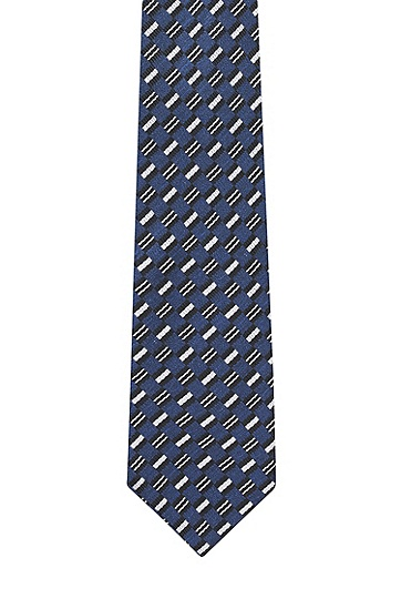 男士时尚商务领带,  422_中蓝色
