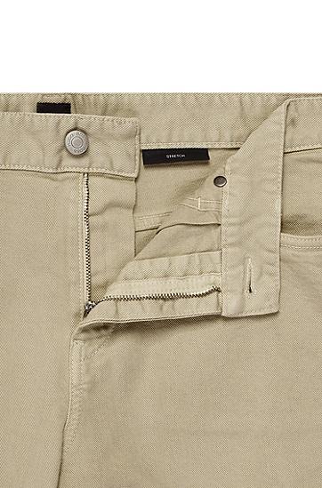 男士时尚休闲长裤,  275_浅米色