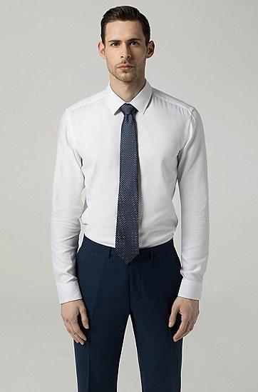 男士时尚商务休闲桑蚕丝领带,  451_浅蓝色
