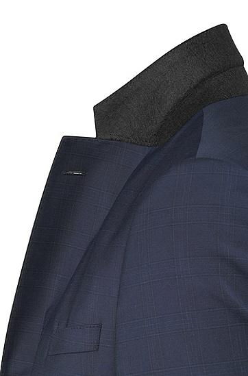 男款經典純色修身西裝,  480_淡藍色