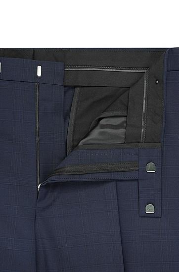 男款经典纯色修身西装,  480_淡蓝色