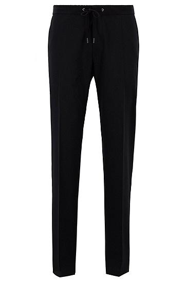 男士商务休闲西裤,  001_黑色