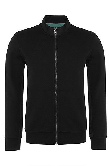 男士休闲长袖外套,  001_黑色