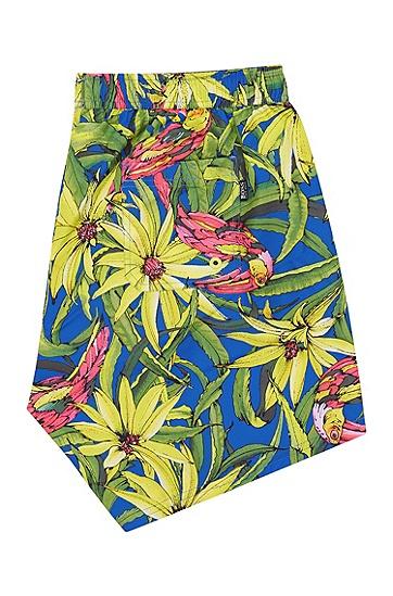 男士商务休闲游泳短裤沙滩裤,  461_淡蓝色