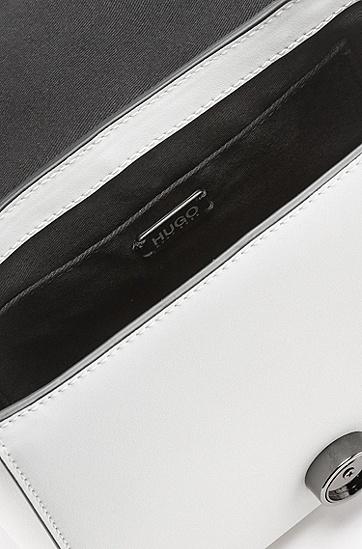 女士休闲单肩包斜挎皮包,  121_淡白色