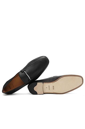 男士休闲时尚商务皮鞋,  001_黑色