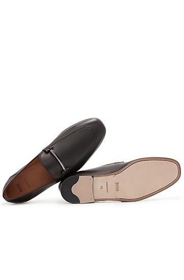 男士休闲时尚商务皮鞋,  202_暗棕色