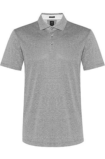 男款商务休闲短袖Polo衫,  402_暗蓝色