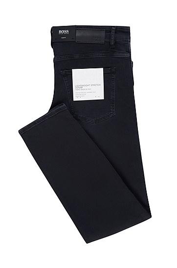 男士休闲牛仔裤,  010_炭黑色