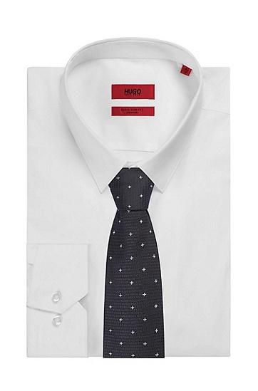 男士商务休闲领带,  401_暗蓝色