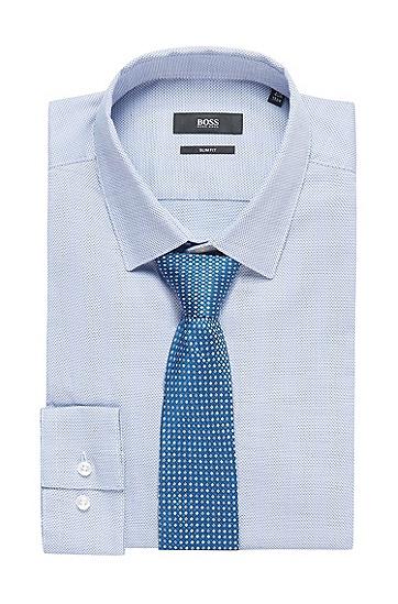 男士商务休闲领带,  423_中蓝色