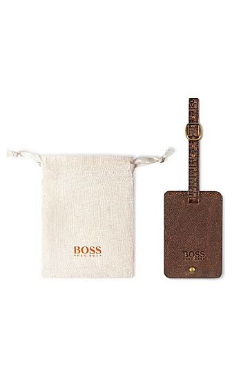 BOSS Orange Luggage Tag,