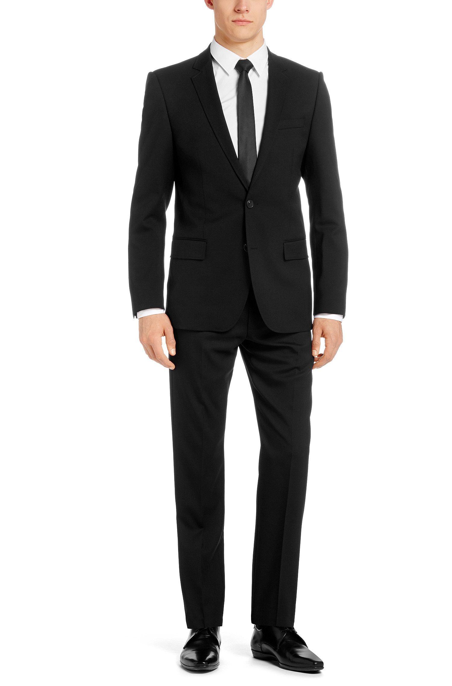 Slim-Fit Anzug ´Aiko/Heise` aus Schurwolle