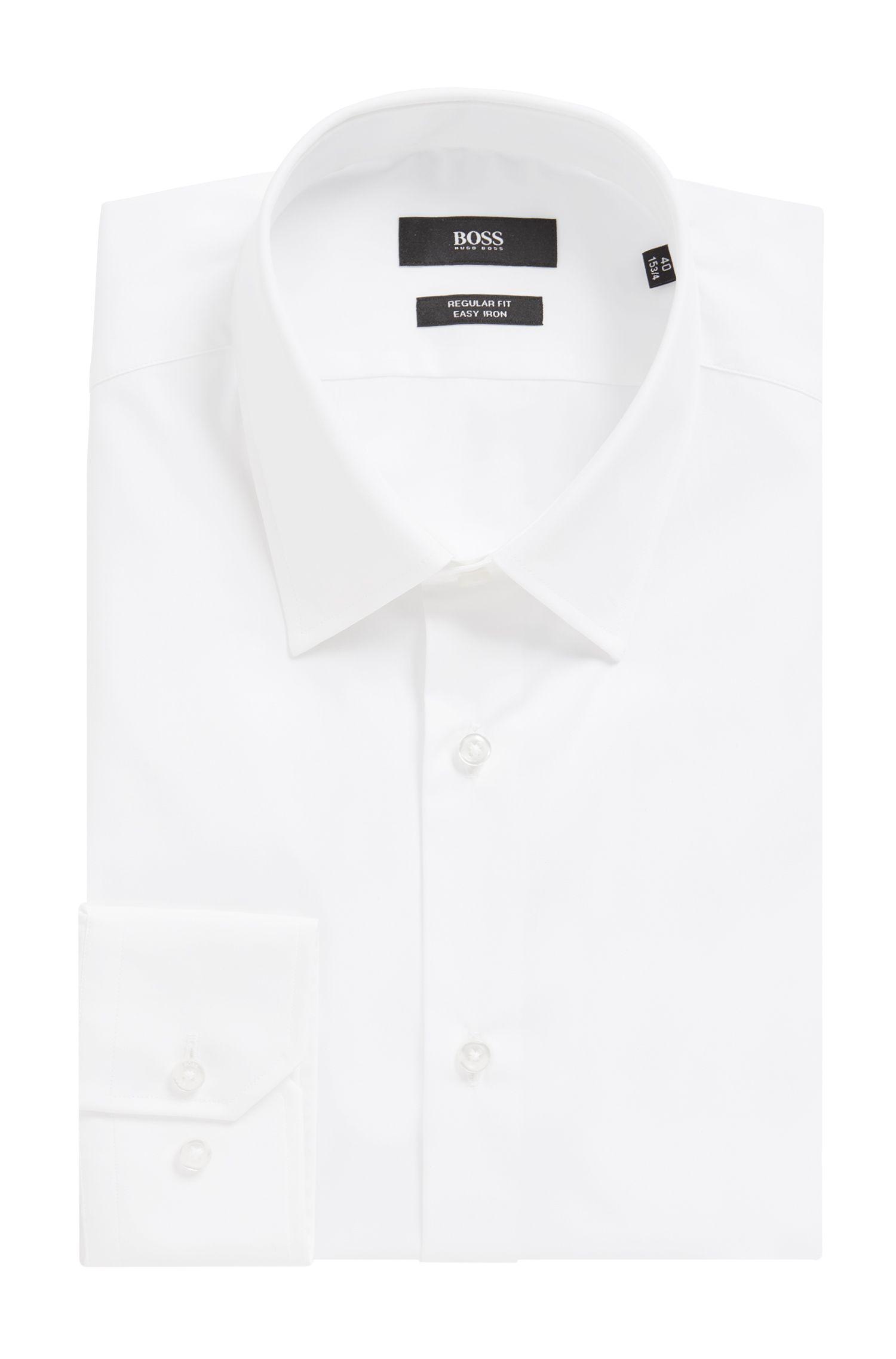 Chemise Regular Fit en coton facile à repasser: «Enzo»