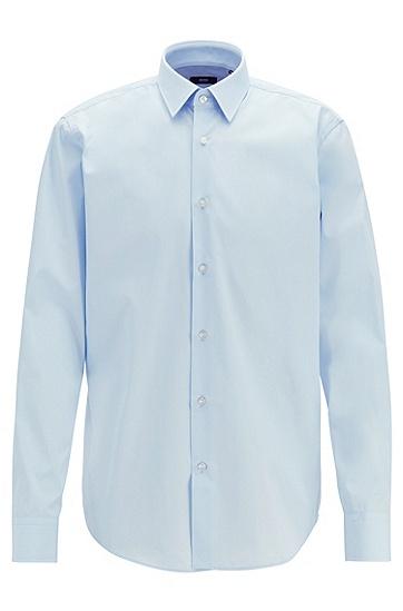 高品质商务衬衫,  461_淡蓝色