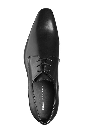Lace-up shoes 'ALLYN' in calfskin, Black