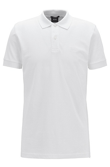 男款经典Polo衫,  100_白色