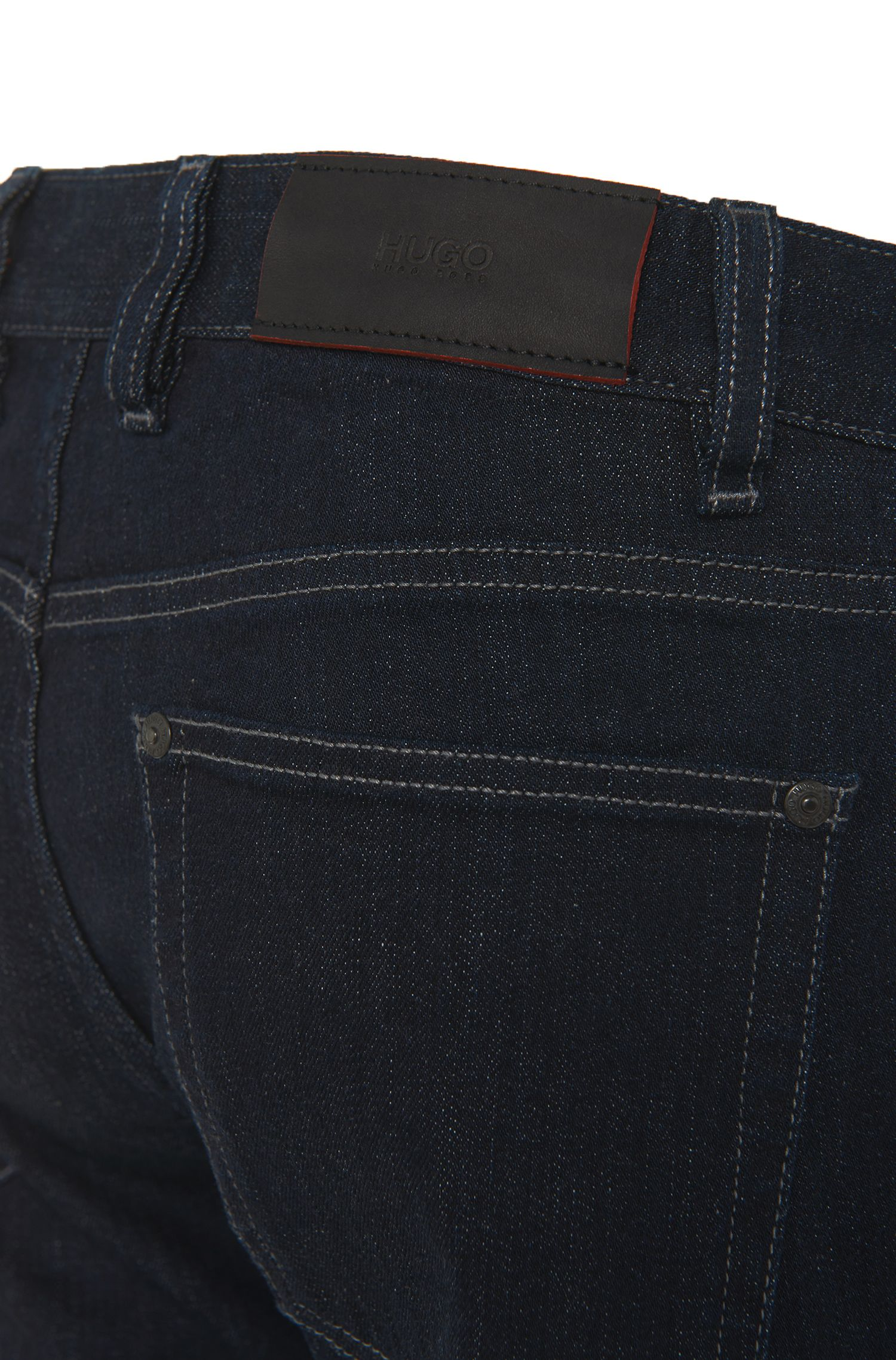 Regular-fit jeans van stretchkatoen: 'HUGO 677/8'