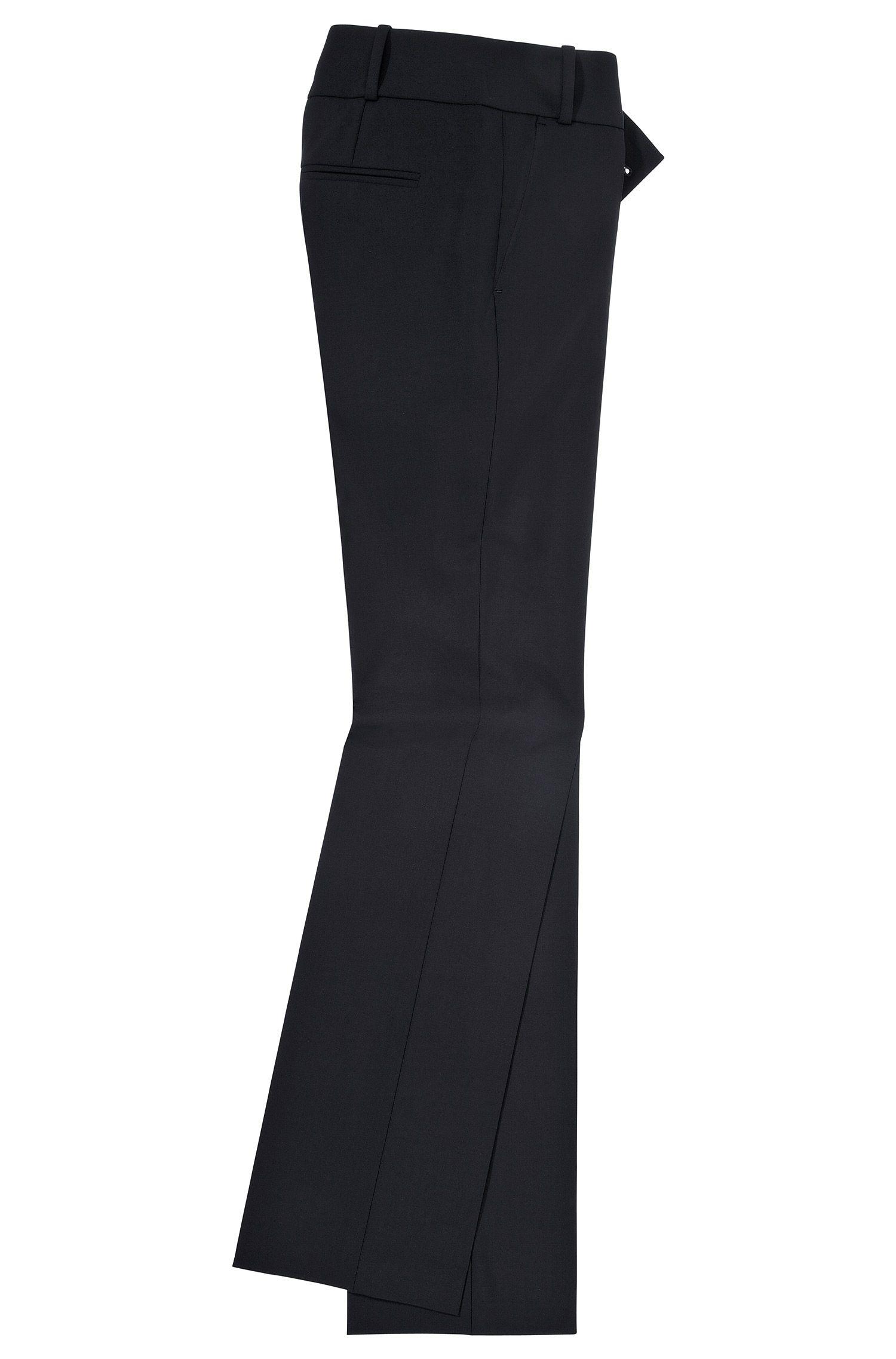 Slim-Fit Hose ´Taru5` aus einer Schurwollkomposition