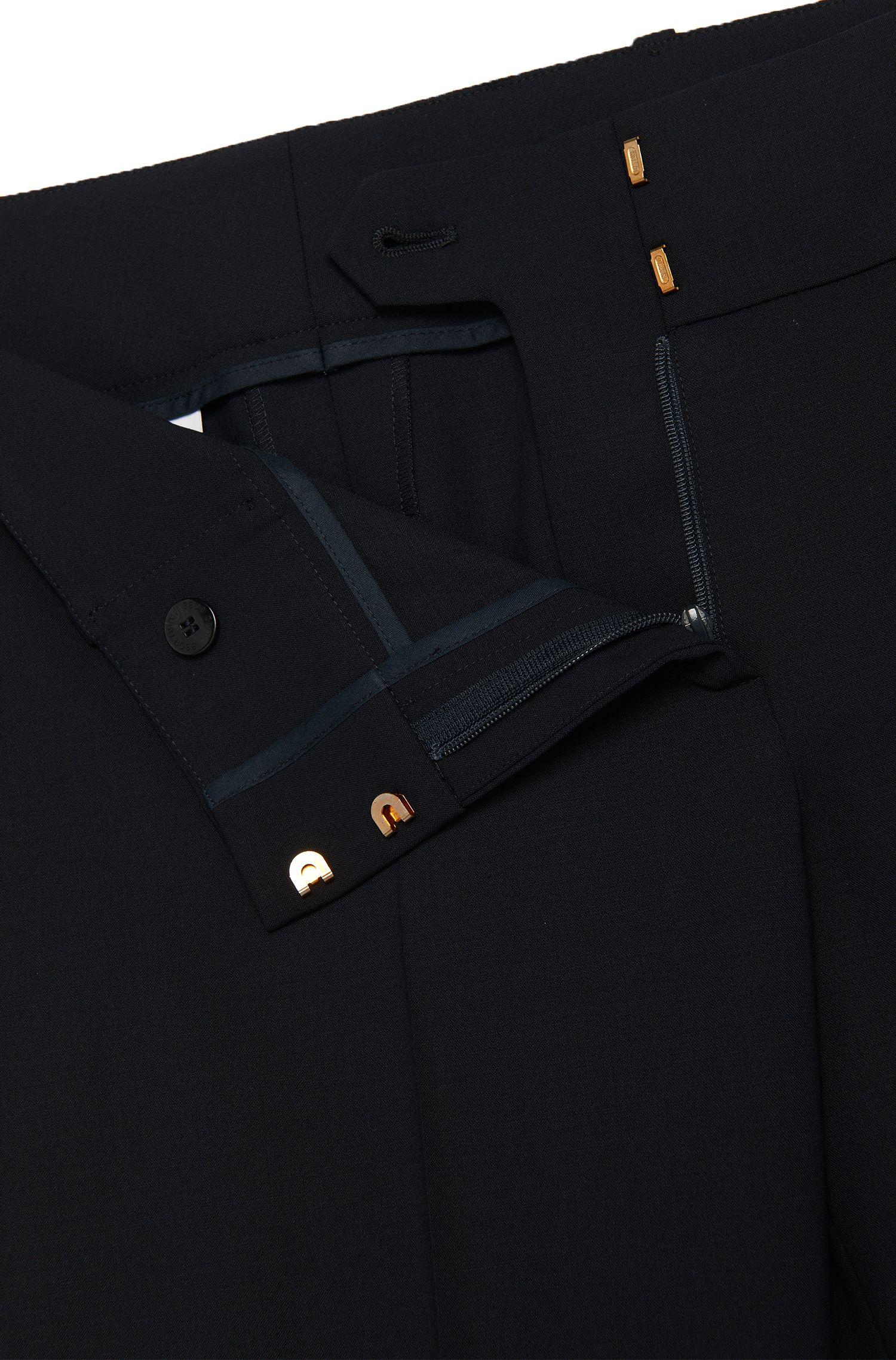 Regular-Fit Hose aus Stretch-Schurwolle: 'Tuliana2'