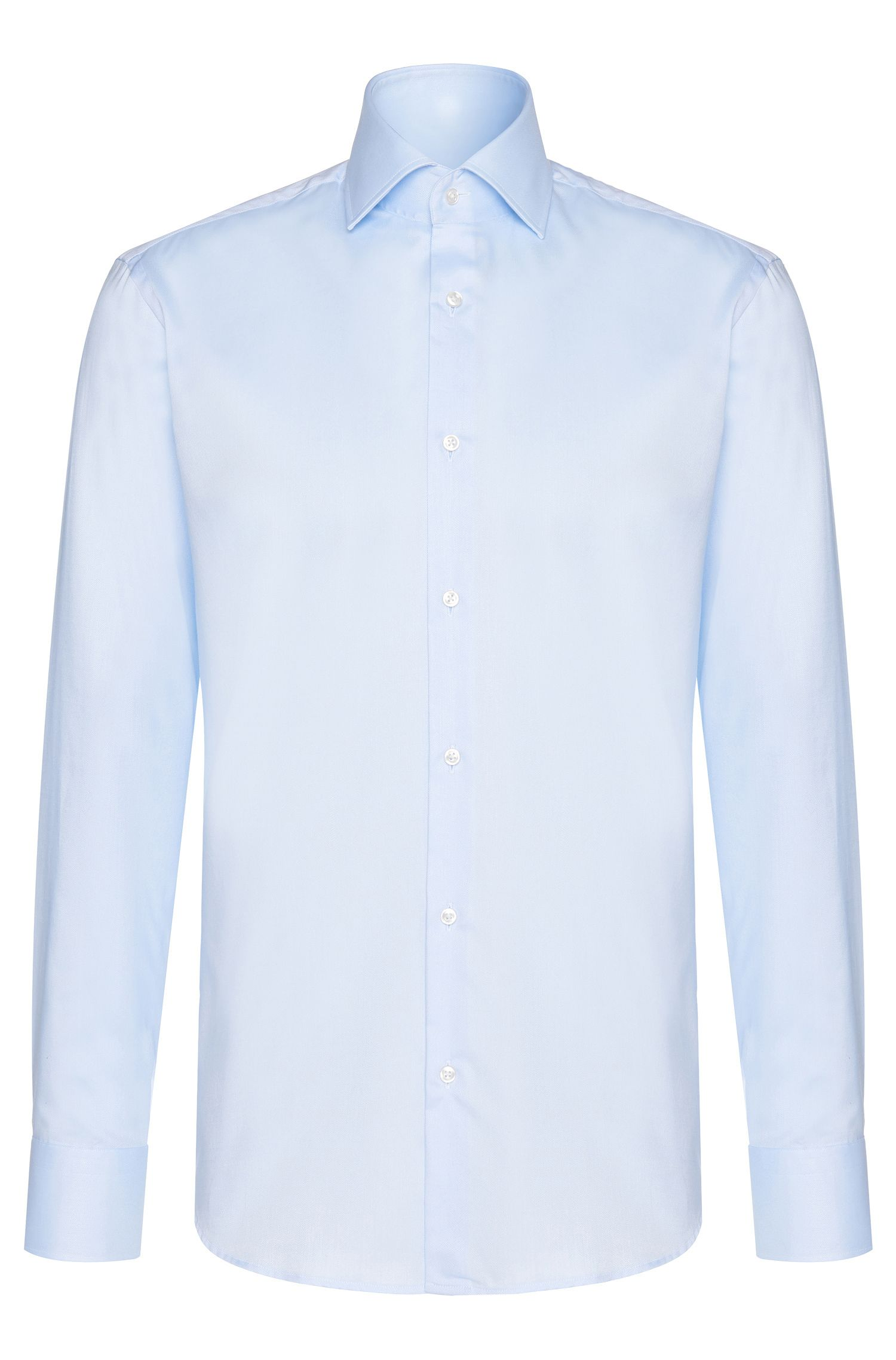 Chemise Regular Fit en coton : « Gerald »