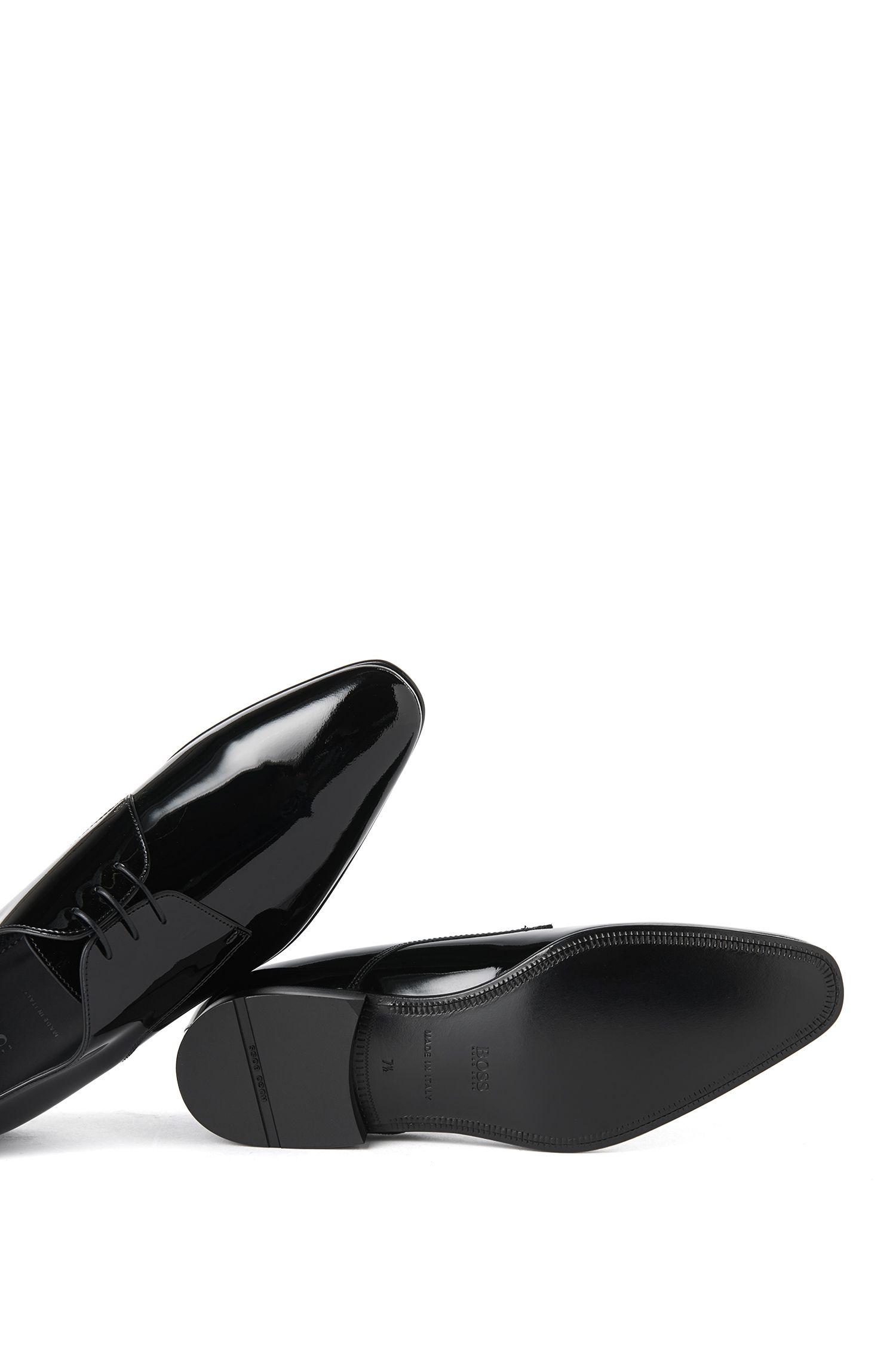 Schnürschuhe aus Lackleder: 'CRISTALLO'