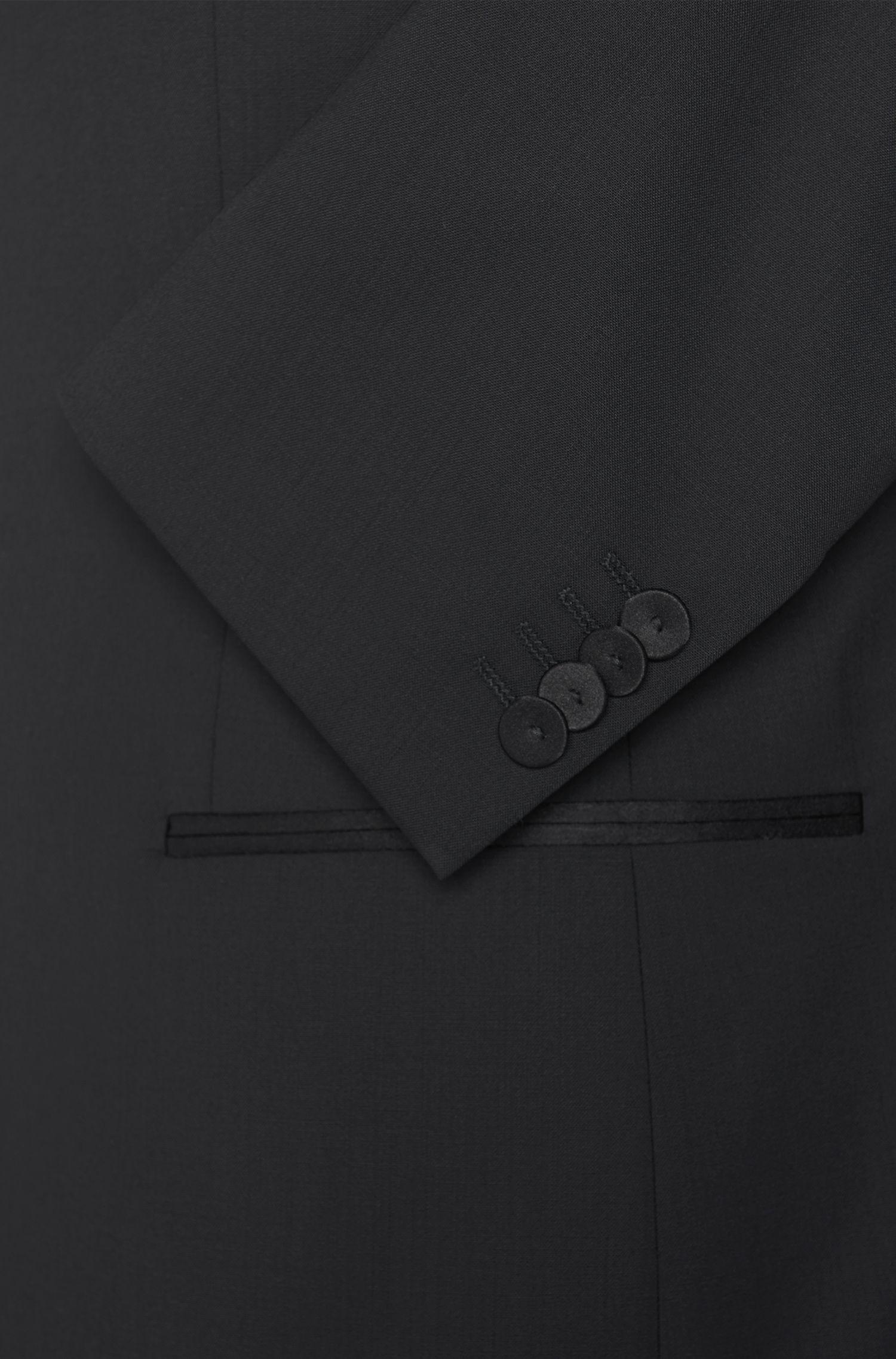 Regular-Fit Smoking aus elastischer Schurwolle: ' Aden/Hit'