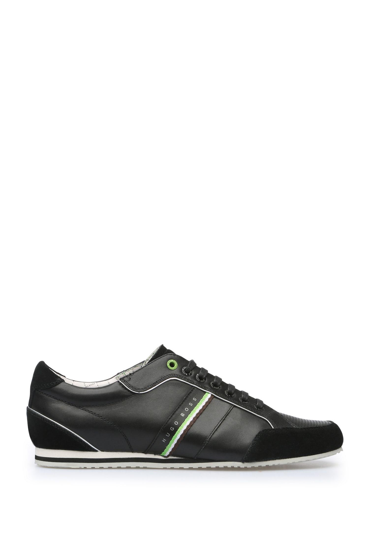 Sneakers aus Glatt- und Veloursleder: ´Victoire LA`
