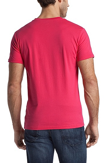 T-Shirt ´Shirt SS RN BM` mit UV-Schutz, Pink